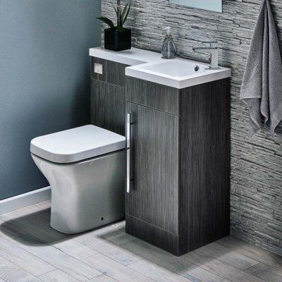 توالت فرنگی و روشویی