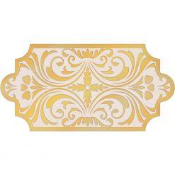 کاشی ایفاسرام دکور کوتینگ طلایی 74R