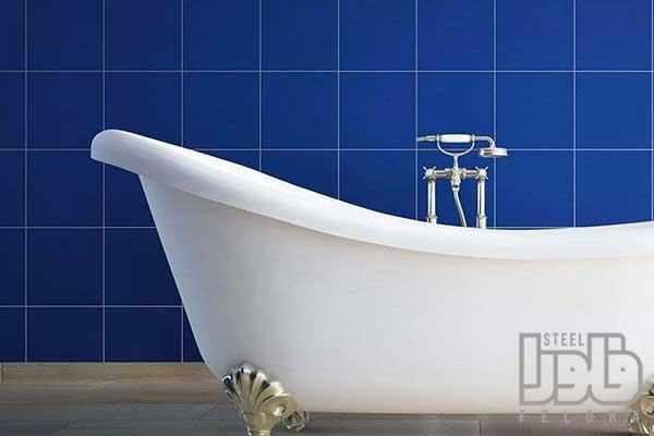 رنک کاشی سرویس بهداشتی آبی